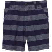 Baby Toddler Boy Flat Front Cotton Shorts