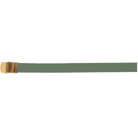 fox outdoor 45-10 od 54 in. cotton with belt, brass plated - olive (Best 45 Acp Brass)