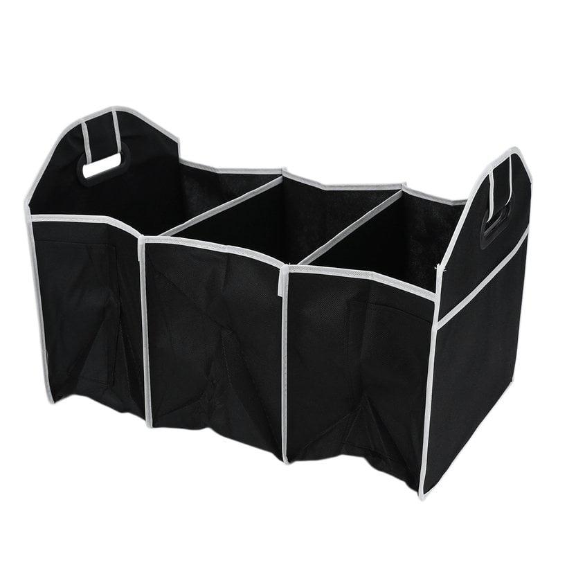 Folding Car Trunk Organizer, Black