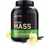 Optimum Nutrition Serious Mass Protein Powder, Vanilla, 50g Protein, 6 Lb