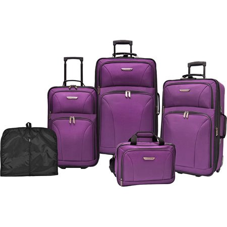 Versatile 5-Piece Luggage Set