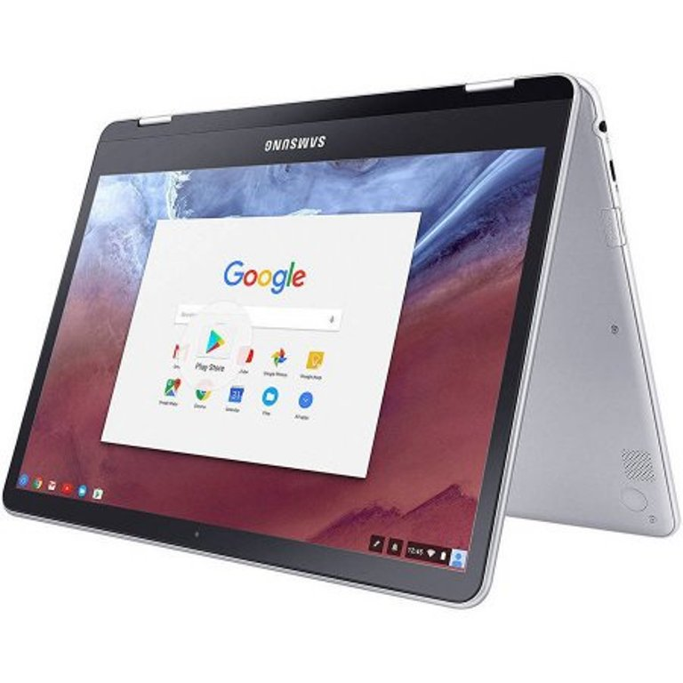 Refurbished Samsung XE513C24-K01US Chromebook Plus 2-in-1 Touch Laptop 2.0 GHz 4GB 32GB HD