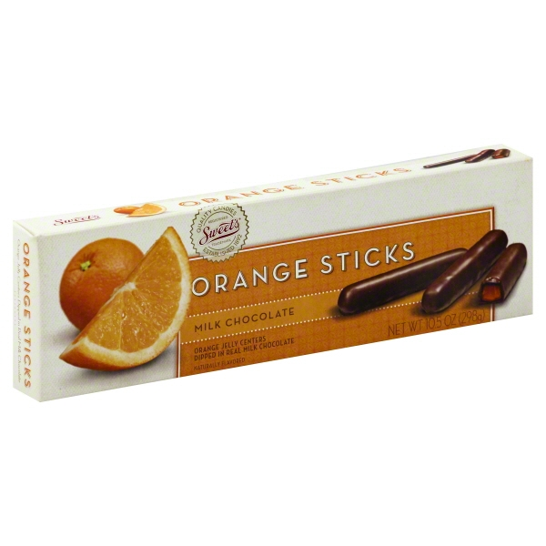 Milk Chocolate Orange Sticks, 10.5 Oz.