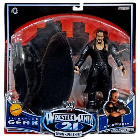 Undertaker Suit (WWE Wrestling WrestleMania 21 Series 1 Undertaker Action)