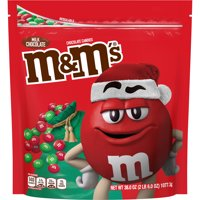 M&M'S, Christmas Candy, Milk Chocolate, Party Size, 38 Oz. Bag