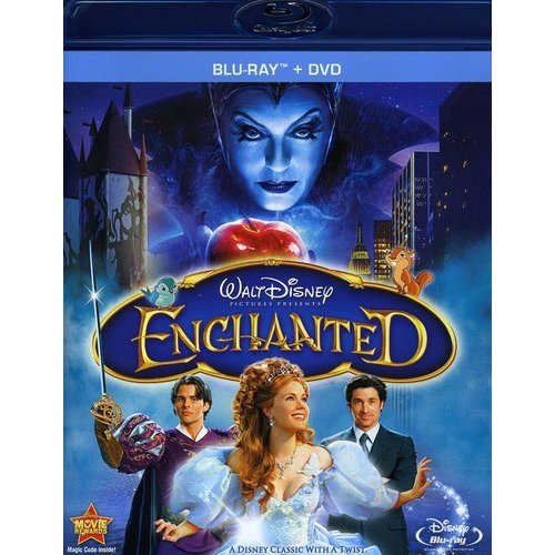 Enchanted (Blu-ray   DVD) (Widescreen)