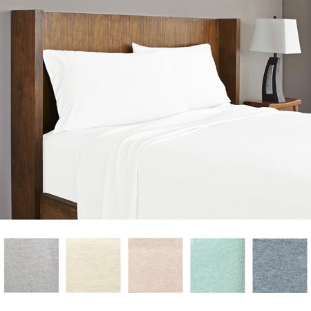 Soft Tees Luxury Modal Jersey Knit Sheet Set (Difference Between Bed Linen And Bed Sheet)