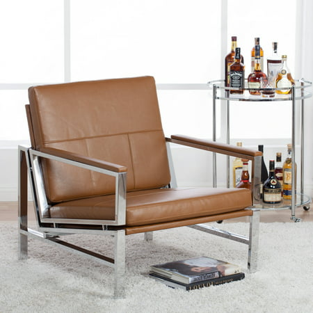 Studio Designs Home Atlas Bonded Leather Lounge Chair