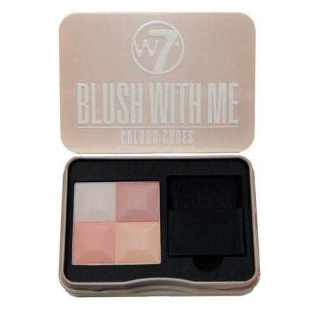 W7 - Blush With Me Colour Cubes Blusher Palette - Getting Hitched