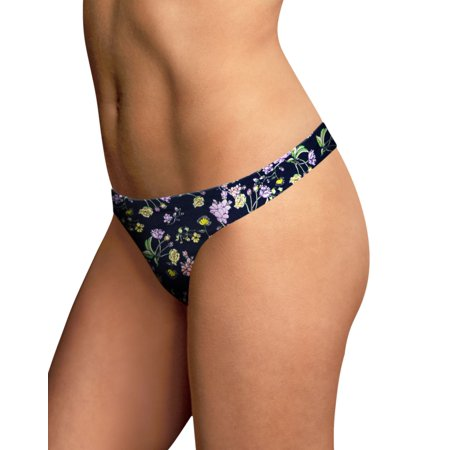Maidenform Womens Comfort Devotion Thong - Best-Seller, 9 (Chocolate Brown Thongs)