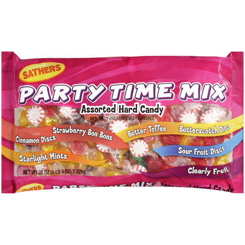 Sathers Party Time Mix Candy, 36 oz