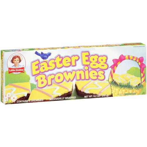Little Debbie Snacks Easter Egg Brownies, 6 ct