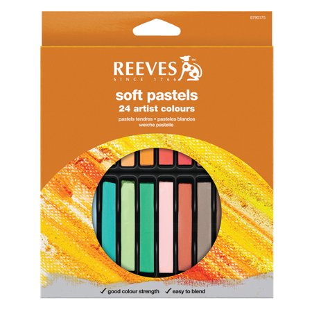 Reeves Soft Pastels, 24-Colors