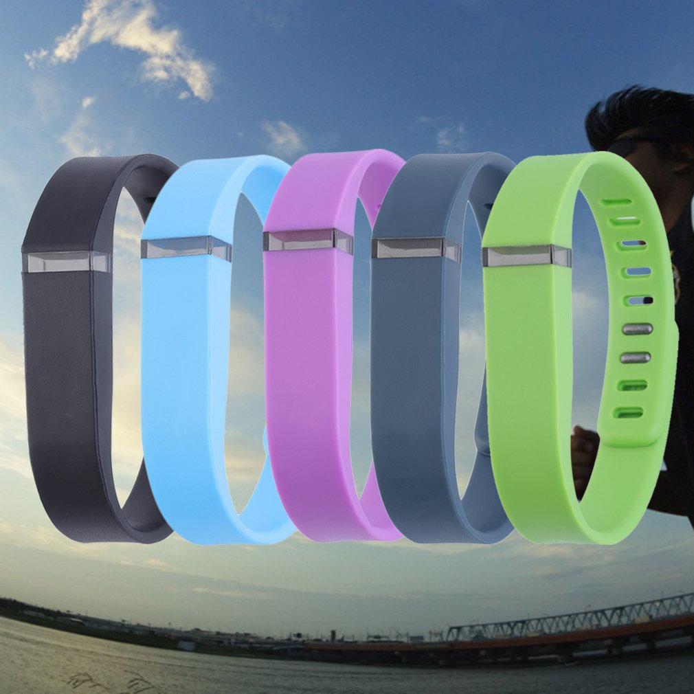 Large Size Replacement Wrist Band Bracelet for FITBIT FLEX Tracker w/Clasps With Accessories