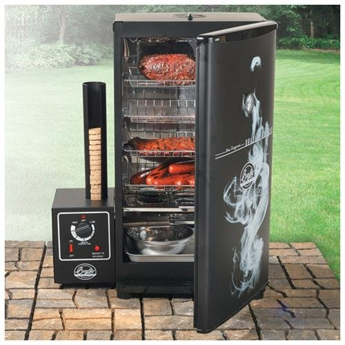Bs611 Electric Food Smoker - Black - Electric - 4 Sq. Ft. Cooking Area - 500 W Cooking Power - 4 X Rack[s] (bs611)