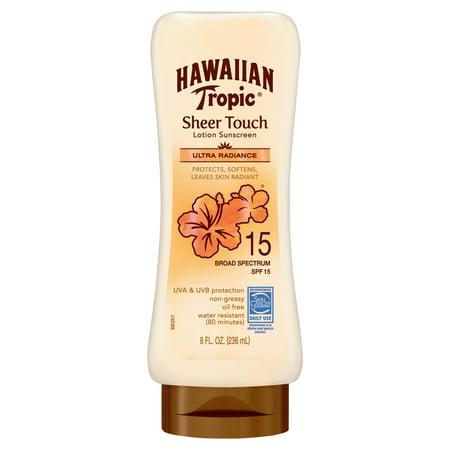 Spf 15 Base (Hawaiian Tropic Sheer Touch Ultra Radiance Sunscreen Lotion SPF 15, 8)