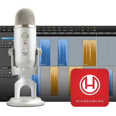 Podcaster Usb Microphone - Yeti Podcaster Kit with USB Microphone and Hindenburg Journalist DAW