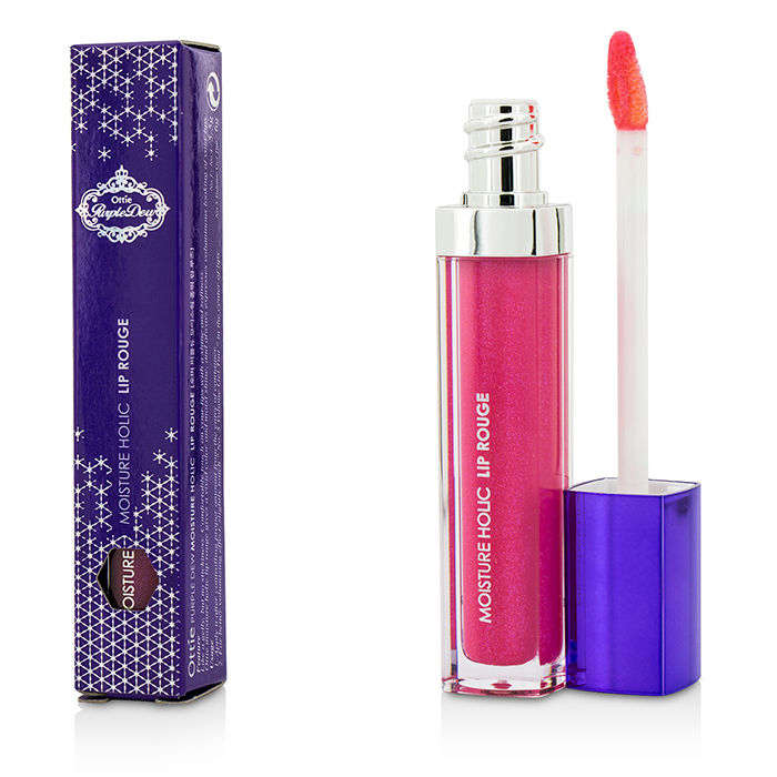 Ottie - Purple Dew Moisture Holic Lip Rouge #03 Candy Pink - 5.5g/0.18oz