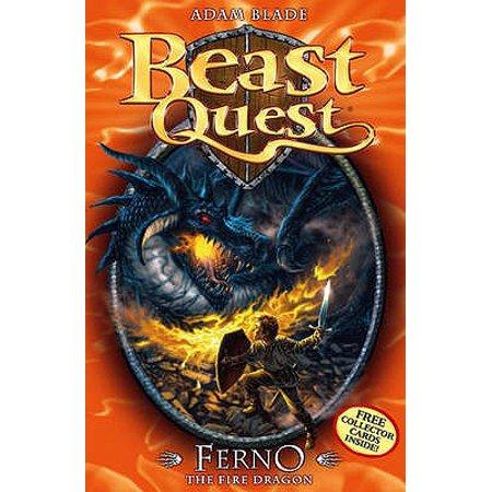 Ferno : The Fire Dragon. by Adam Blade (Sea Quest Adam Blade)