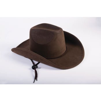 CHILD - BROWN SUEDE COWBOY - Halloween Cowboy Hat