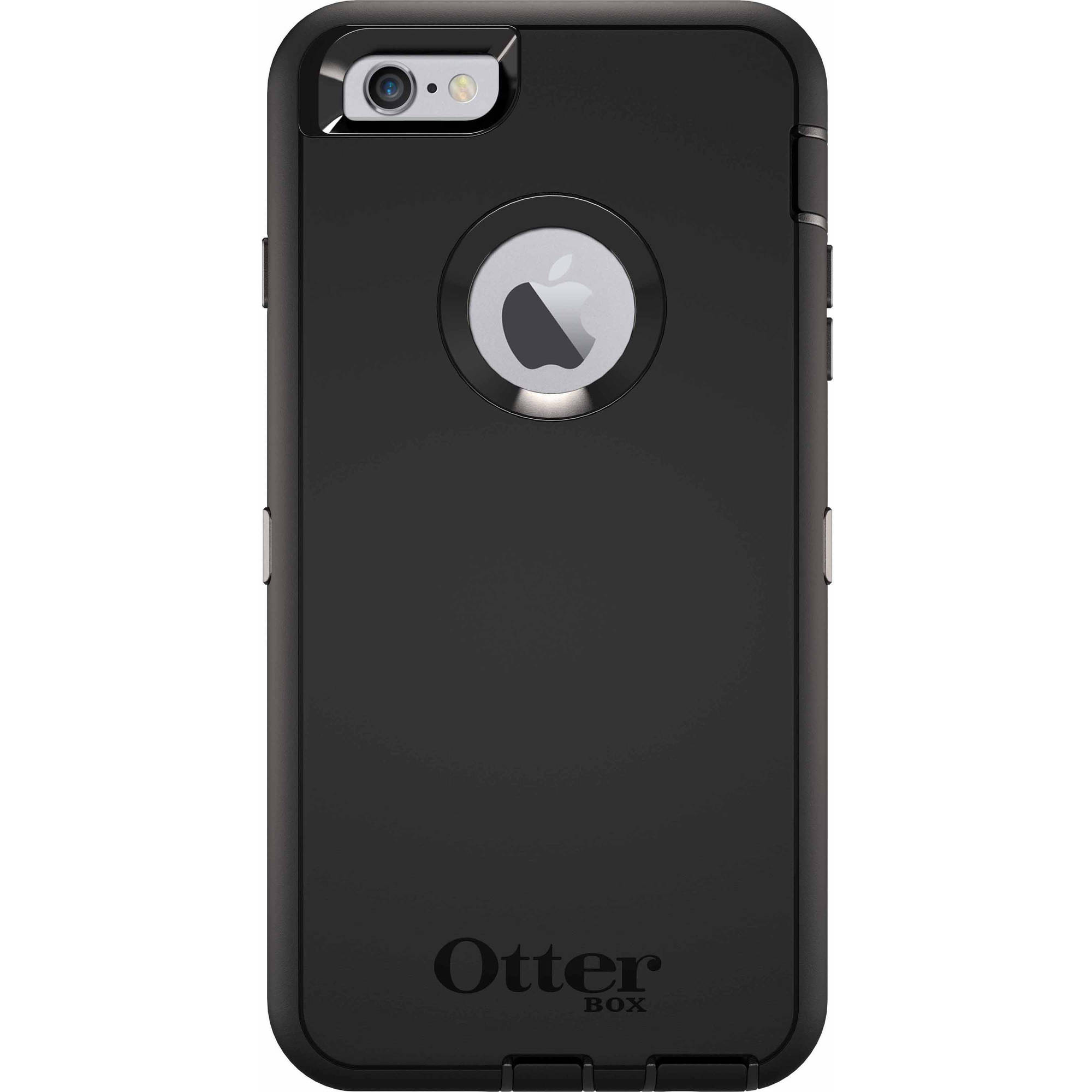 Iphone 6 Plus6s Plus Otterbox Defender Case Black Walmart