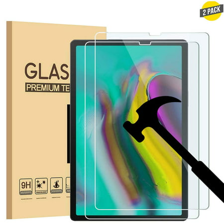 [2 Pack] EpicGadget Screen Protector for Galaxy Tab A 10.1 2019 SM-T510/SM-T515 Scratch Resistant Bubble Free Tempered Glass Screen Protector for Samsung Galaxy Tab A 10.1 Released in