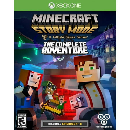 TELLTALE Minecraft: Story Mode- The Complete Adventure - Xbox