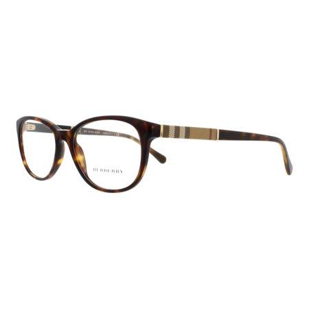 BURBERRY Eyeglasses BE2172 3002 Havana (Burberry Eyeglass Frames For Women)