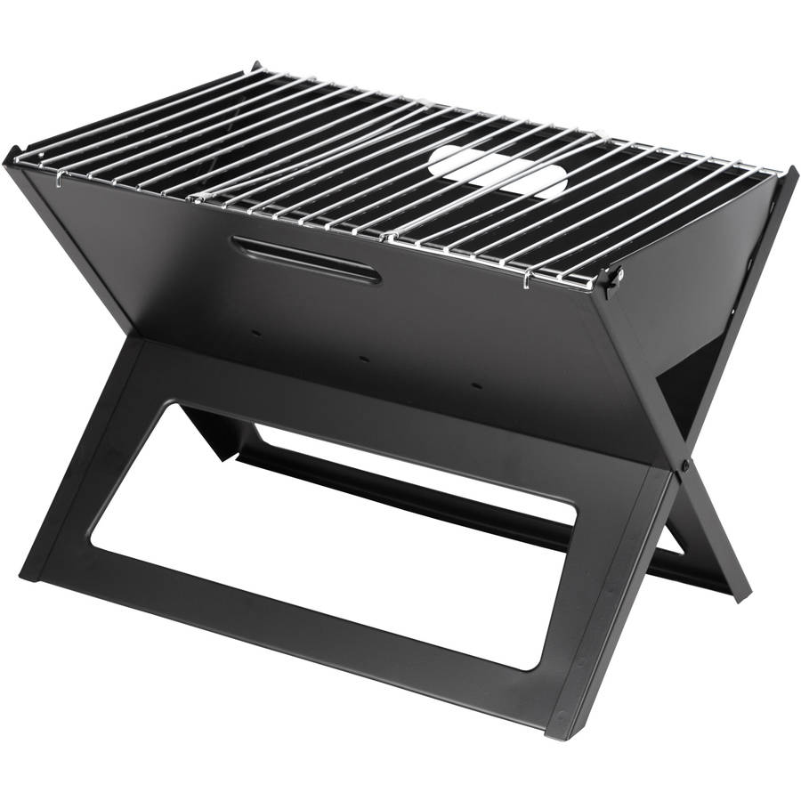 Fire Sense 60508 Notebook Charcoal Grill Black
