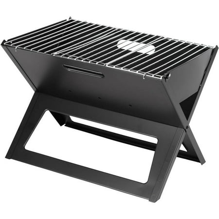 Black Notebook Charcoal Grill ()
