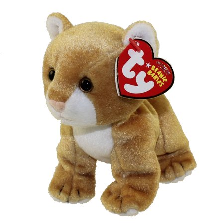 ad820fd8f29 TY Beanie Baby - LINAH the Baby Lion (Internet Exclusive) (5 inch) -  Walmart.com