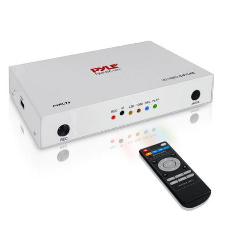 Digital Video Recording Card (PYLE PVRC75 - HD External Capture Card Gaming Video Recording System - Record Full HD 1080p Video)