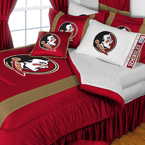 NCAA Florida State Seminoles Bedding College Football Bed