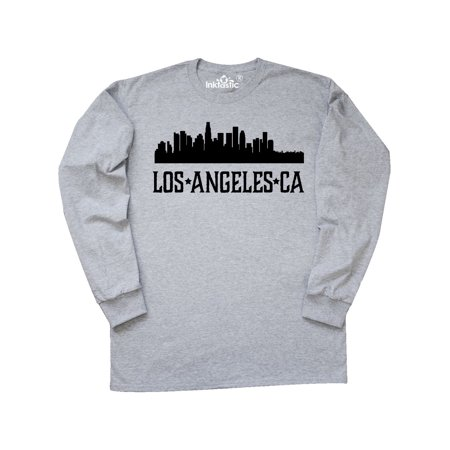 Halloween City Los Angeles (Los Angeles California City Skyline Long Sleeve)