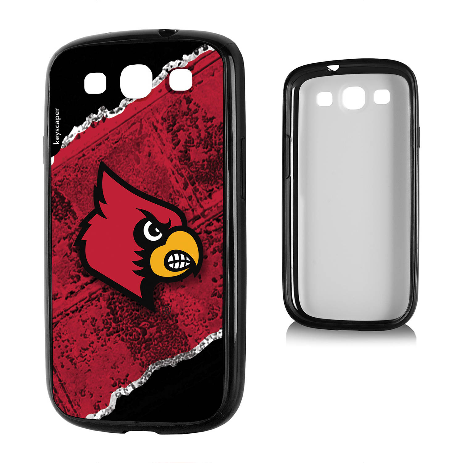 Louisville Cardinals Galaxy S3 Bumper Case