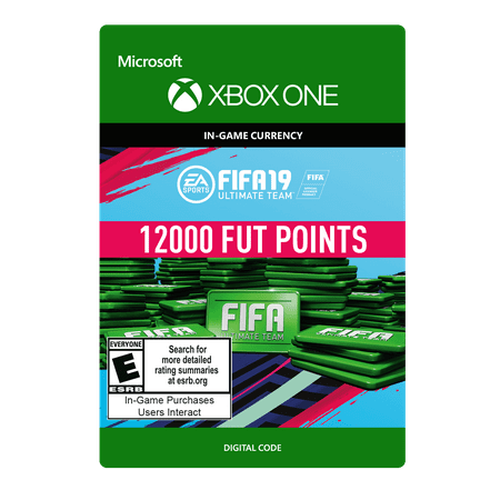 FIFA 19 12000 FUT Points, EA, Xbox, [Digital Download]