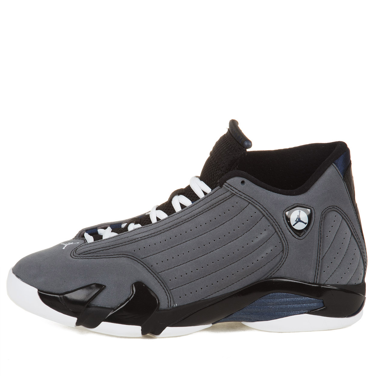 Nike Mens Air Jordan 14 Retro Light Graphite/Mid Navy 311832-011