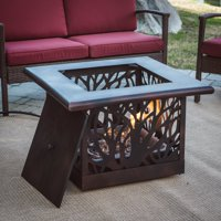 Coral Coast Sherwood Square Gas Fire Table