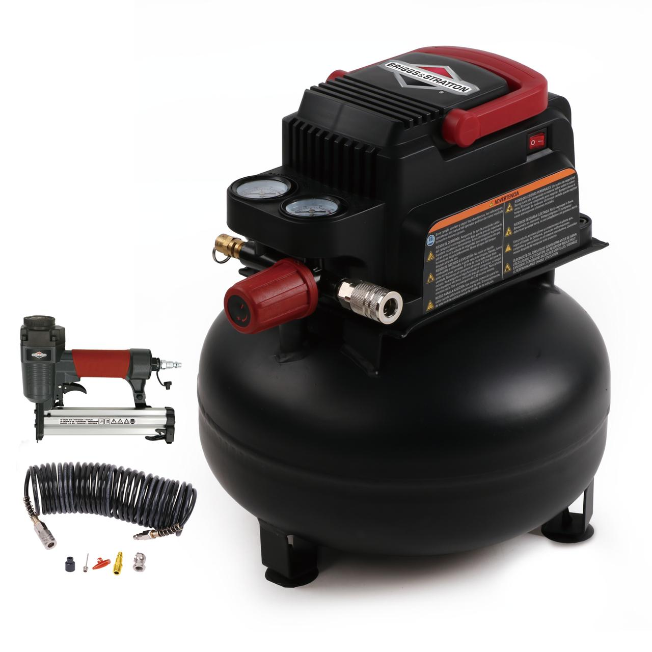 Briggs & Stratton 3-Gallon Air Compressor Inflation and Fastening Accessory Kit