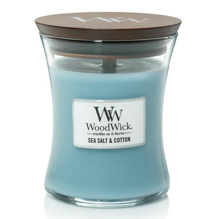 WoodWick Vanilla Sea Salt - Medium Hourglass Candle