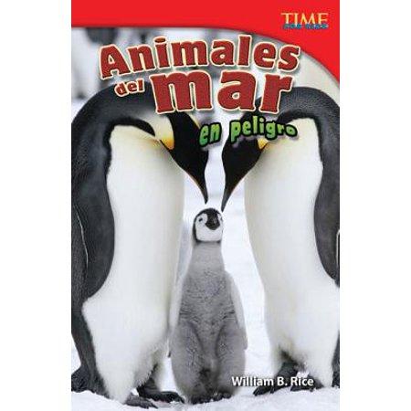 Animales del Mar En Peligro (Endangered Animals of the Sea) (Spanish Version) (Challenging Plus)](Peligros Del Halloween)