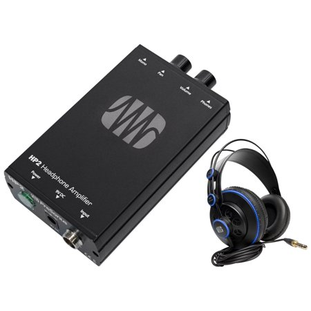 Presonus HP2 2 Ch. Stereo Headphone Amplifier System HP-2+HD7 Studio Headphones