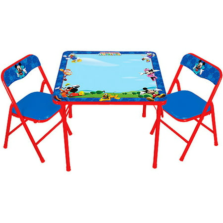 Disney Mickey Mouse ClubHouse Erasable Activity Table Set with 3 Markers