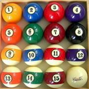 Cuetec Deluxe Billiard Ball Set