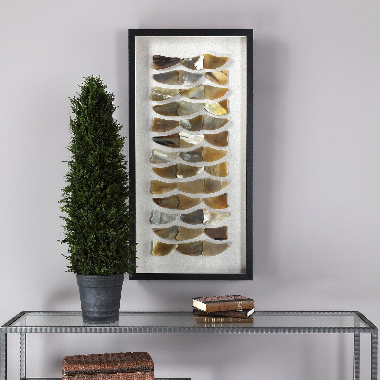 Uttermost Nadja Bone Shadow Box
