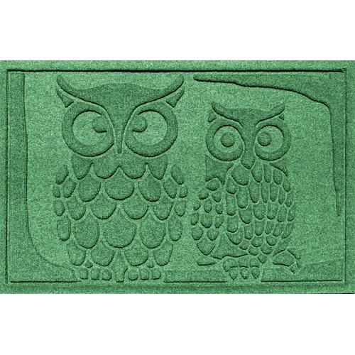 Bungalow Flooring Aqua Shield Owls Doormat