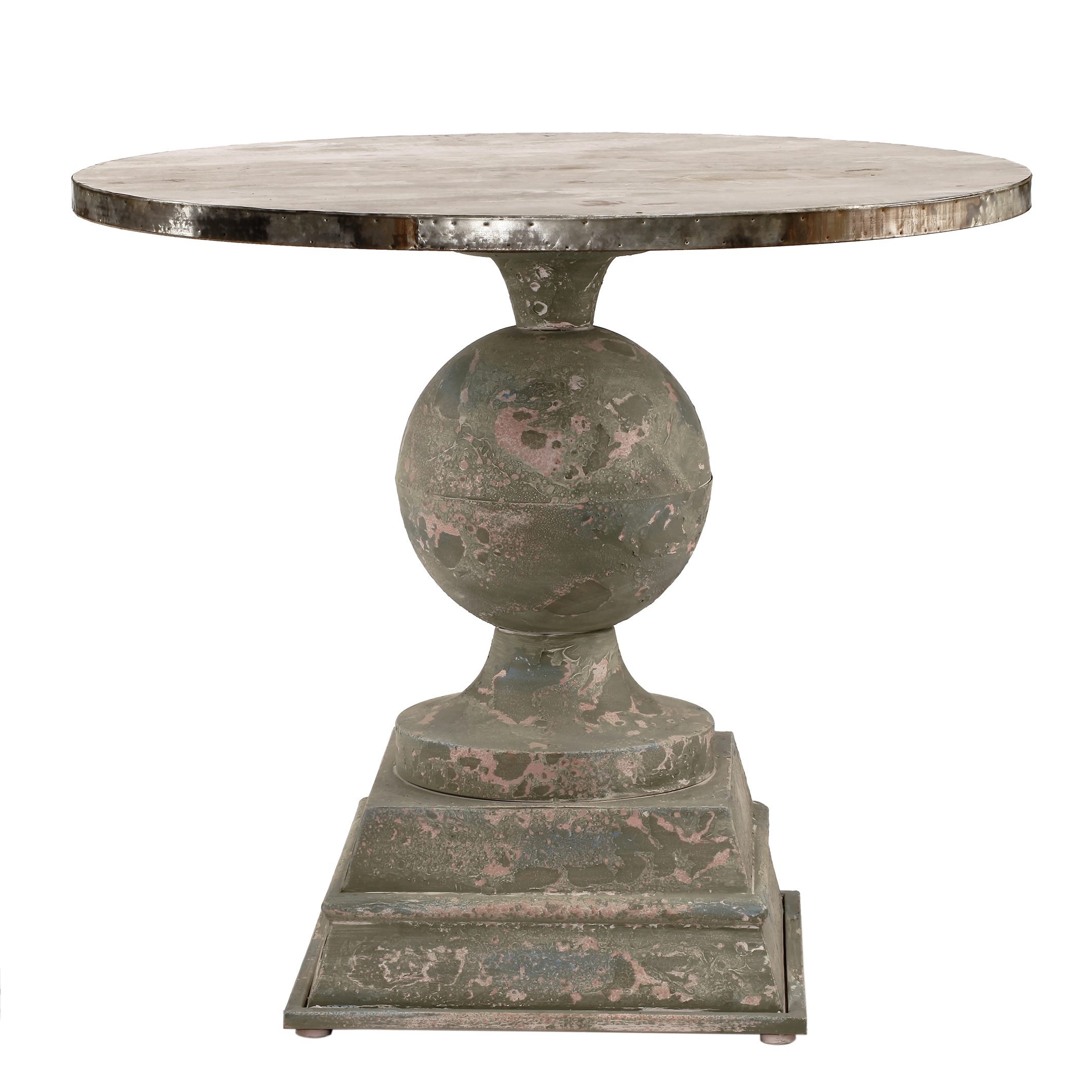 A&B Home French Chic Pedestal Dining Table by A&B Home