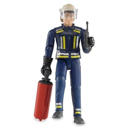 BRUDER Fireman w/ Accessories