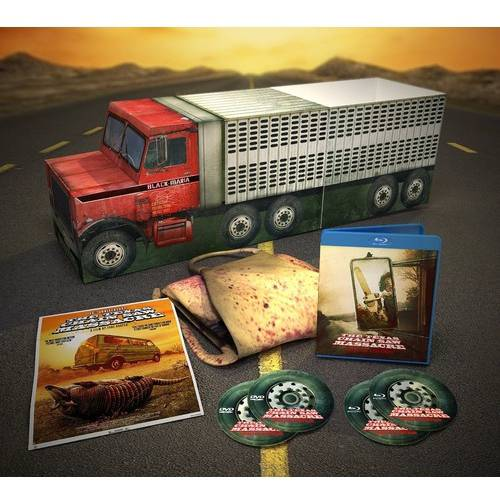 Texas Chain Saw Massacre: 40th Anniversary Black Maria Limited Edition (Blu-ray + DVD) (Widescreen)