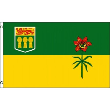 Saskatchewan Polyester Flag - image 1 de 1
